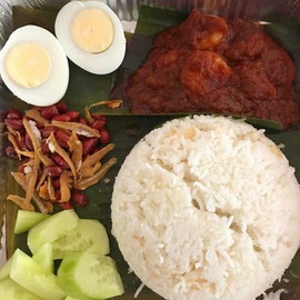 Nasi Lemak (see mains menu for more info!)