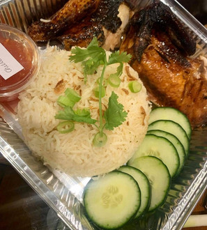 Nasi Ayam (chicken rice)