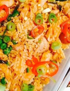 Nasi Goreng (spicy or mild)