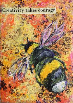 Honey Bee Mini Canvas