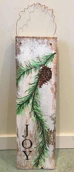 Pine cone Fenceboard