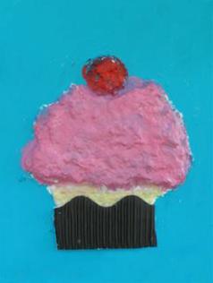 Sculptamold Cupcake