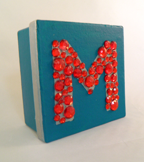 Monogrammed Jewel Box