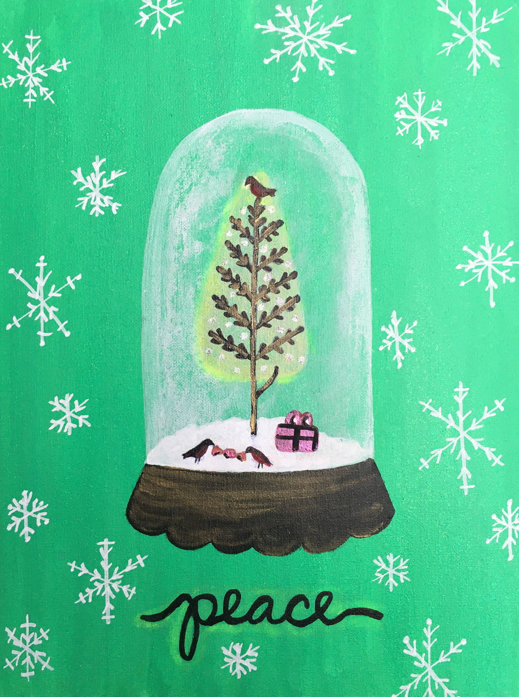Winter Snowglobe