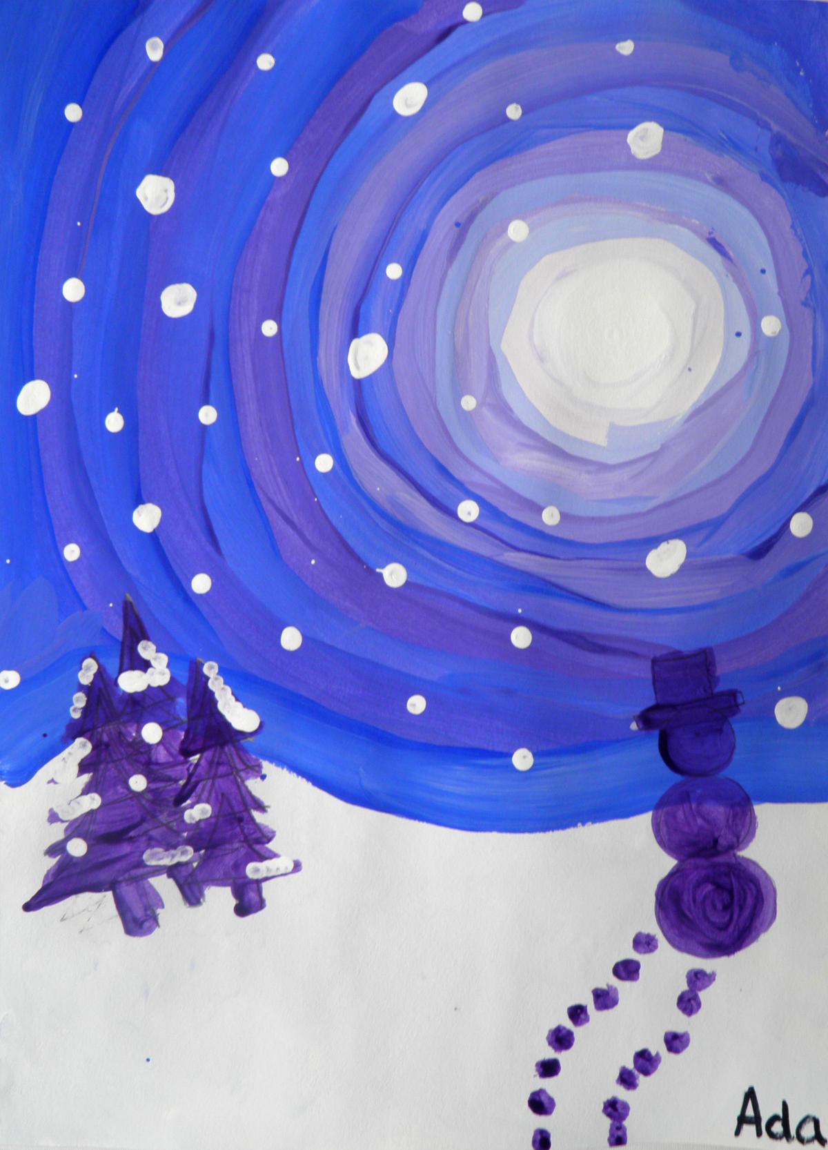 Winter Snow Scene 1
