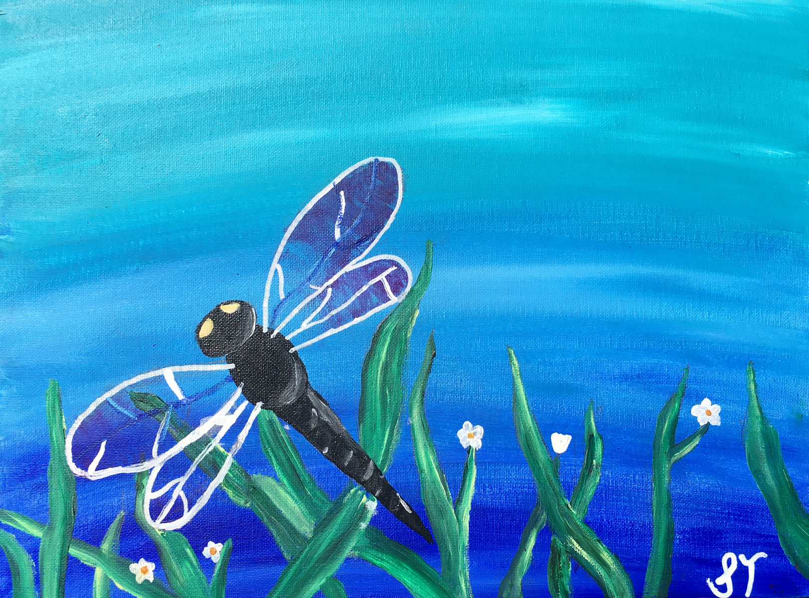 Dragonfly Painting 2