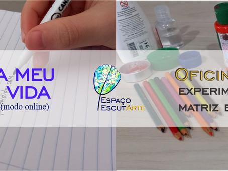Evento de Férias no Espaço EscutArte terá oficinas gratuitas de Artes e Psicologia