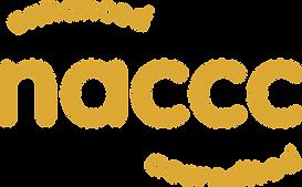 NACCC logo - enhanced accredited yellow.