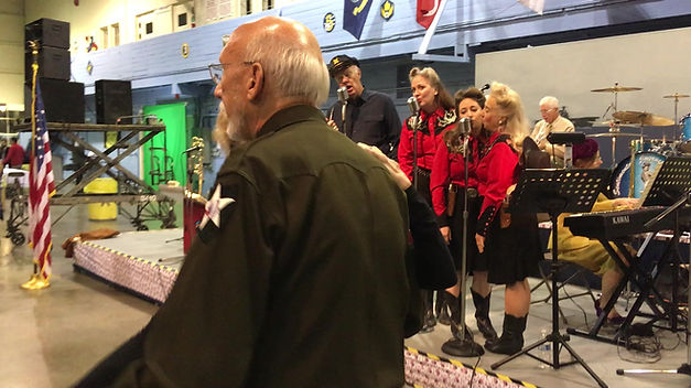 CAF Veterans Dinner & 40's Swing Band Hangar Dance with Centimental Journey Orchestra
