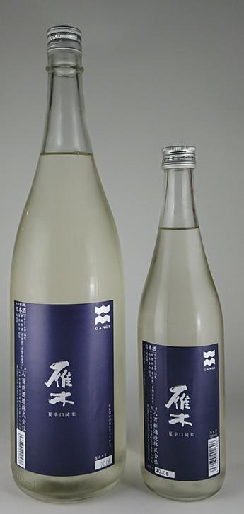 山口県を代表する地酒として人気上昇中! 雁木 夏酒です!