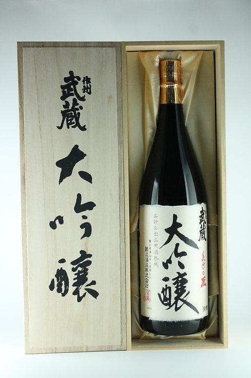 作州 武蔵 美作の匠 大吟醸 品評会出品用酒 熟成 1800mlギフト