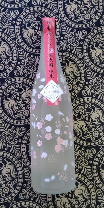 瓢太閤 純米 花柄ボトル 入荷です!