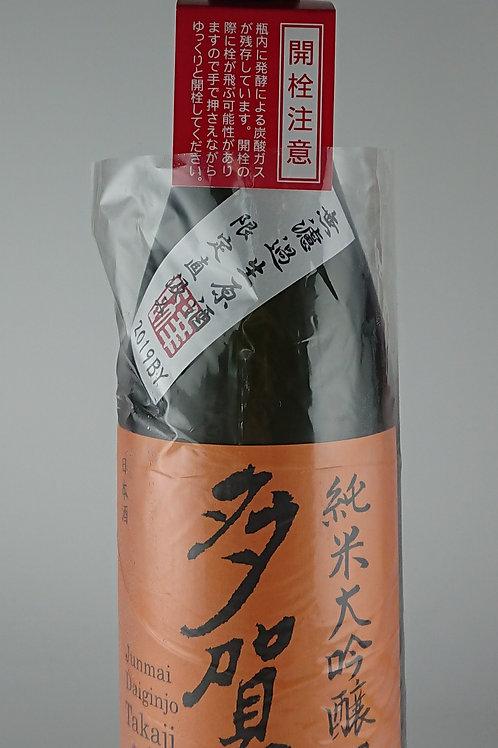 多賀治 純米大吟醸 朝日 無濾過生原酒 1800ml