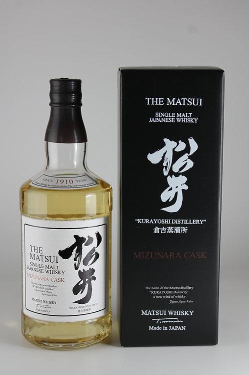 シングルモルトウイスキー松井 ミズナラ 700ml