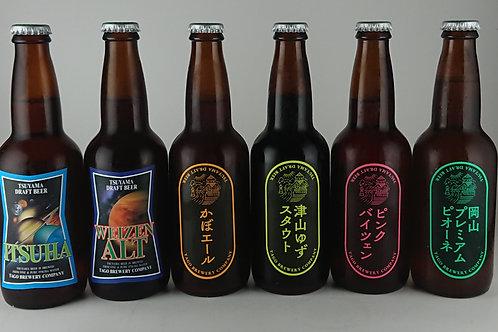 作州津山ビール 6種類 各2本 330ml(12本入り)