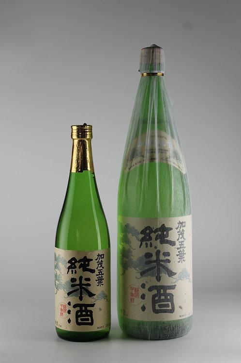 加茂五葉 純米酒 1800ml
