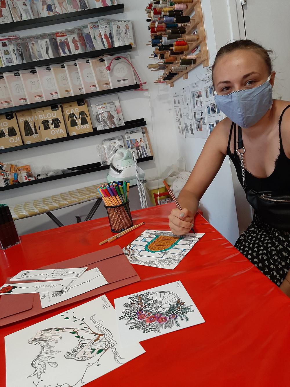 Atelier pour s'apaiser par la pratique du coloriage pour adultes