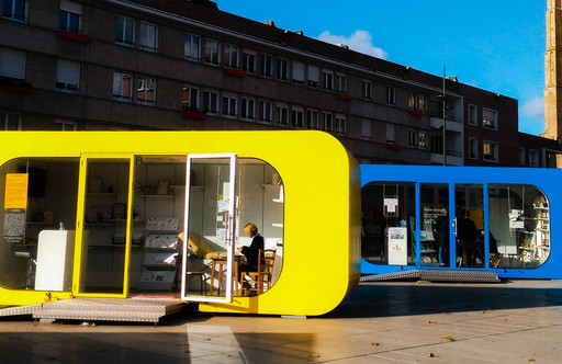 Les boîtes créatives, place Jean Bart