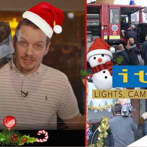 Liverpool Santa On ITV Prime Time TV! The Most Famous Scouse Father Christmas? Ep 4