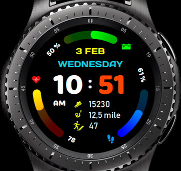 Sport Watch Gradient