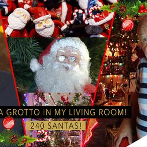 I've Got 240 Santa's In My Living Room!