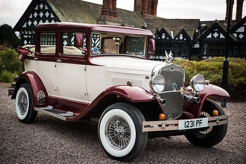 Badsworth Landaulette Bridal Car
