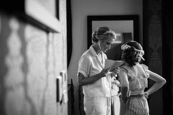Bridal Preperation Wedding Photography