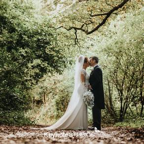 An Autumn Wedding at Allerton Manor - The Hay Loft - Wedding Photography & Videography