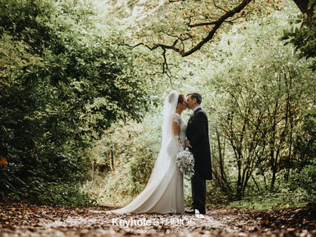 An Autumn Wedding at Allerton Manor - The Hay Loft - Wedding Photography & Videography