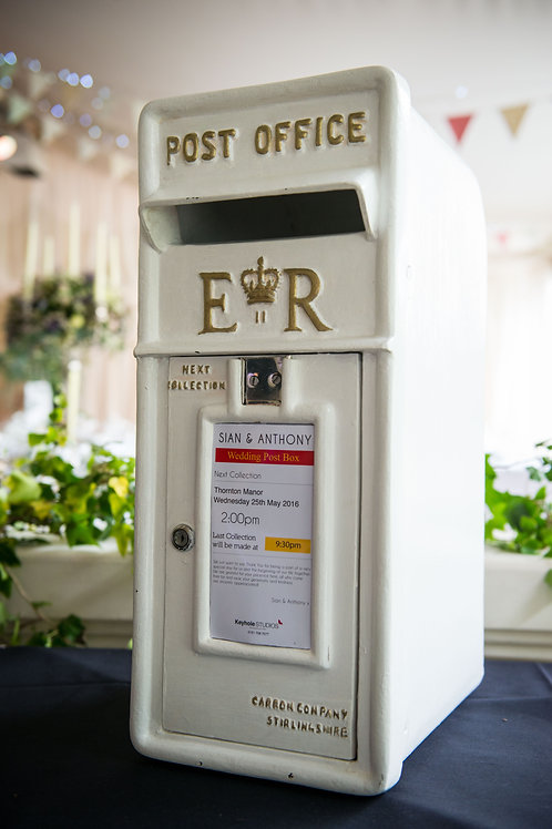 Ivory Table Top Post Box