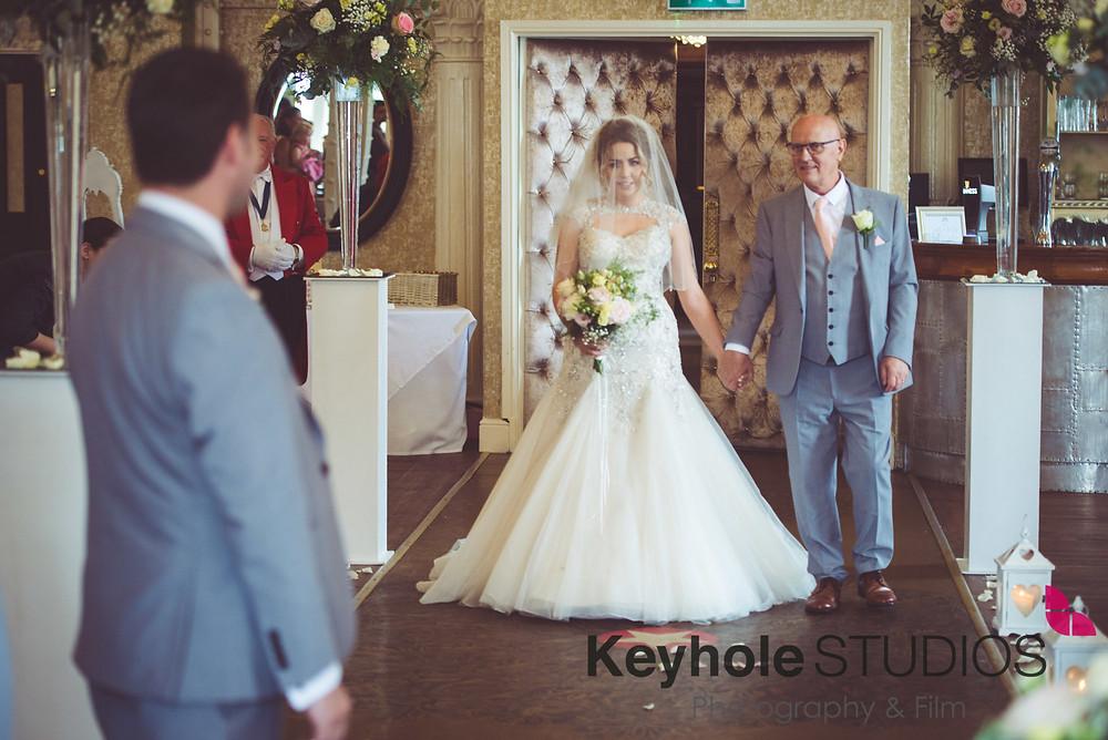 Wedding photograph taken by Keyhole Studios wedding photography & film at 30 James Street