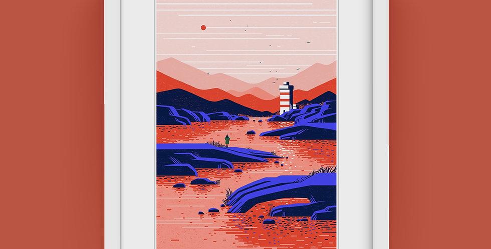 An Anthology vol.2 #1 Lighthouse Illustration Giclée Art Print