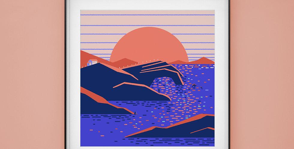 An Anthology vol.1 #9 Illustration Giclée Art Print