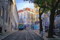 Cable Car, Lisbon