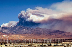 Palm Springs Wildfire