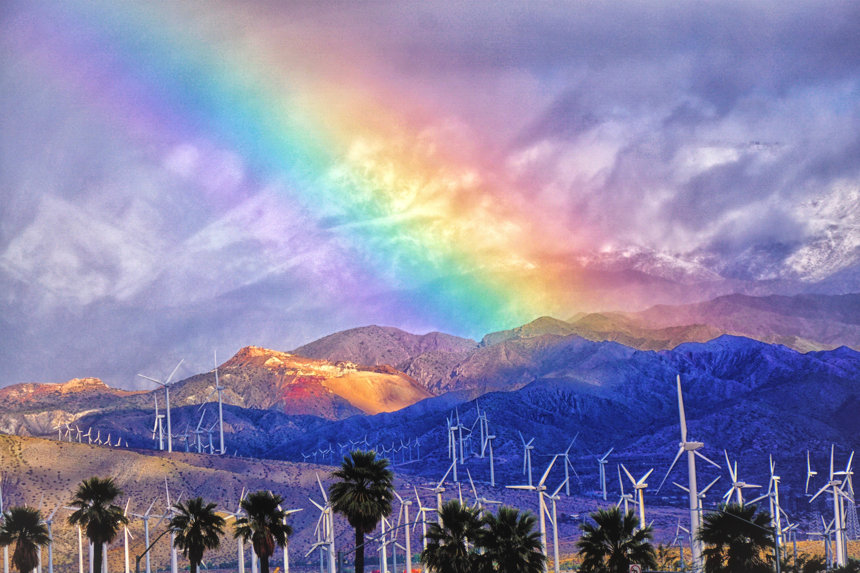Palm Springs Rainbow