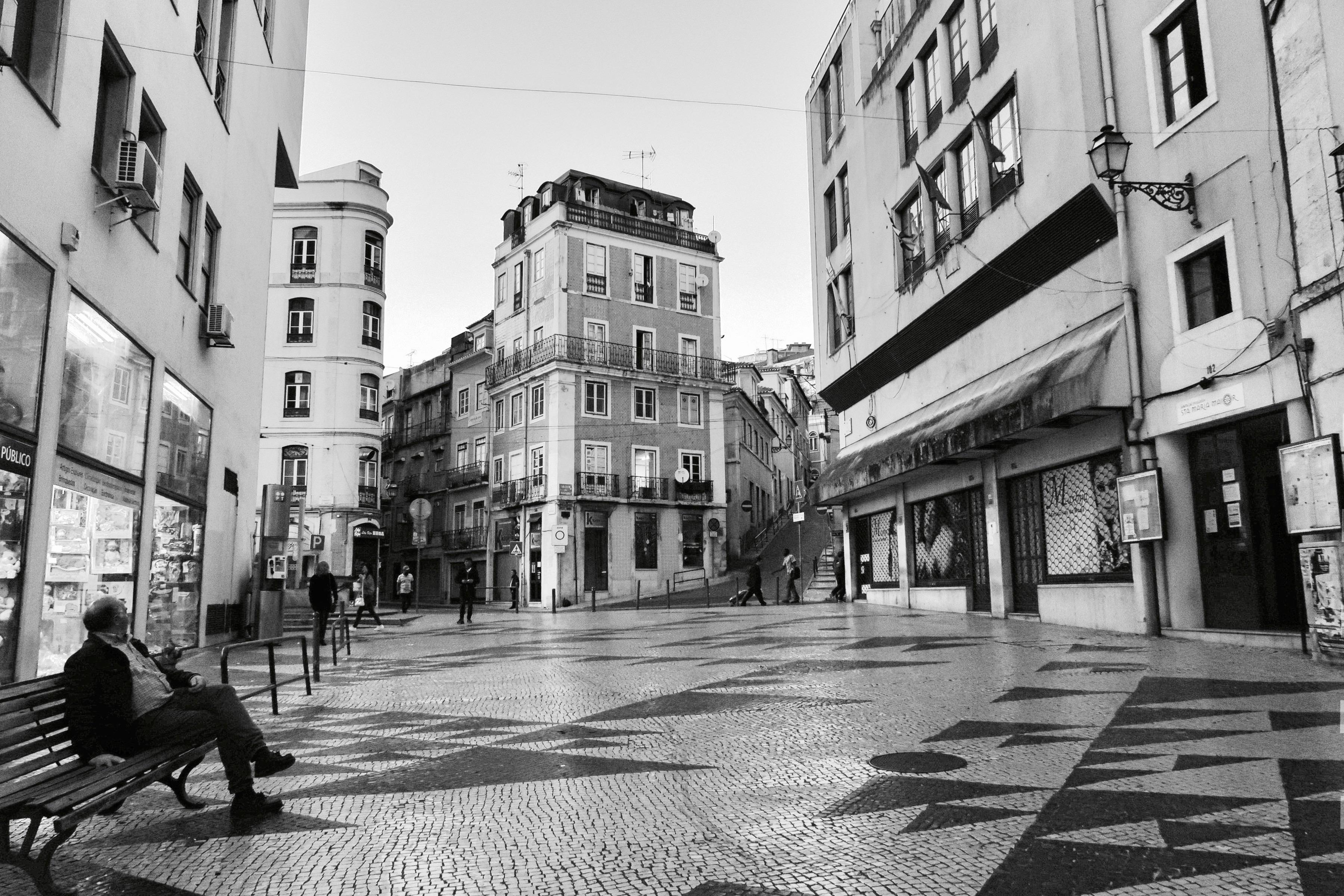 Courtyard Mosaic, Lisbon