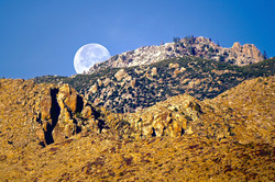 Palm Springs Moonset