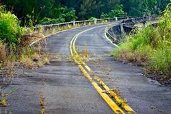 Hawaii Abandoned Bridge