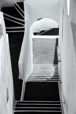 Escher-like Stairs, Santorini