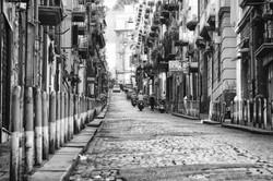 Cobbled Street, Naples