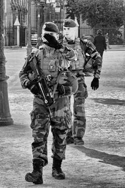 Guarding Notre Dame
