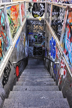 Subway Entrance, Barcelona