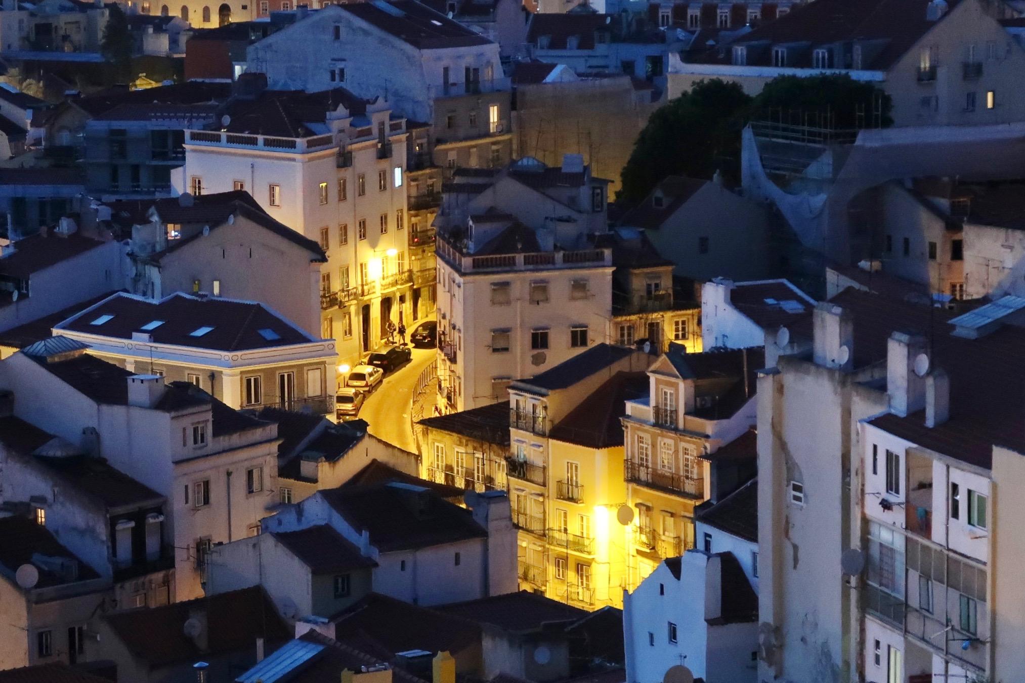 Walking Through Lisbon