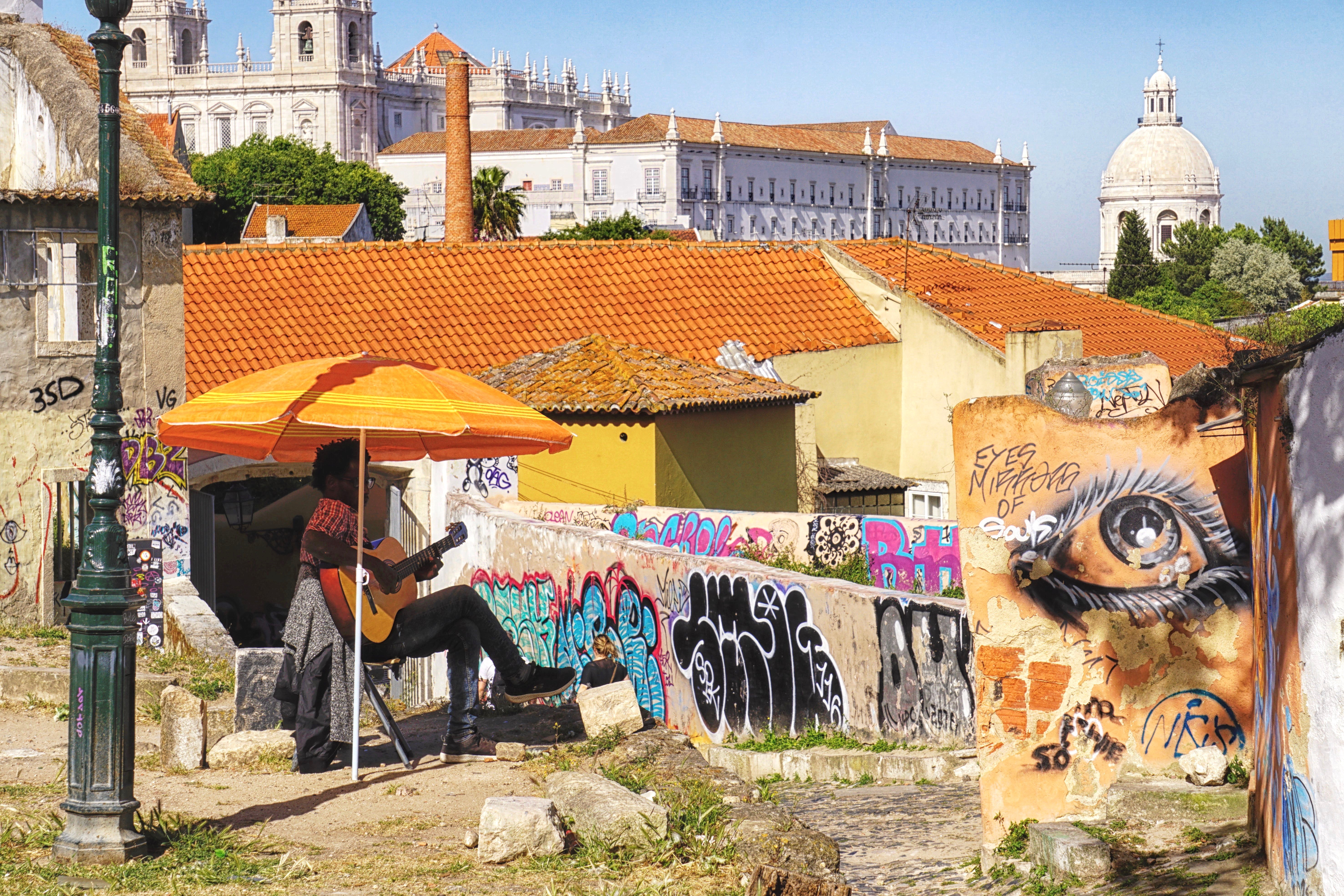 Lisbon Graffiti 1