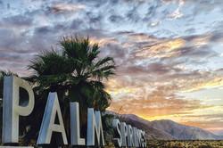 Palm Springs Dusk