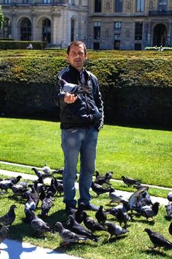 Paris Pigeon Man