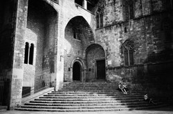 Cathedral Steps, Barcelona