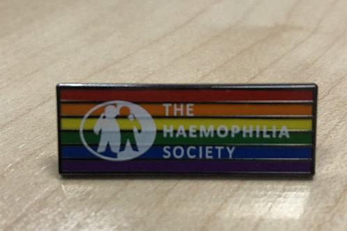 Pin Badge - Rainbow Design