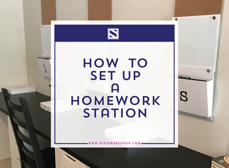 How to Set Up a Homework Station